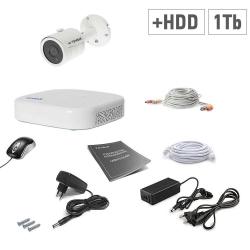 Tecsar 1OUT + HDD 1TB